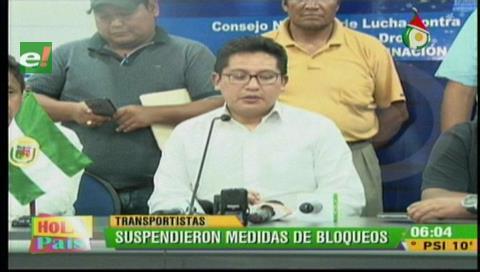 Santa Cruz: Transporte pesado llega a un acuerdo con el Gobierno y suspende bloqueos