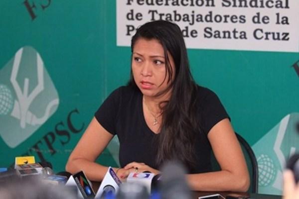 Periodista que denunció acoso en Bolivia TV en riesgo de ser detenida