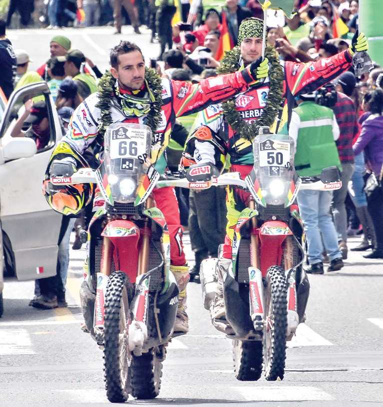 Arrancó el Dakar 2018 en Lima — Suenan los motores