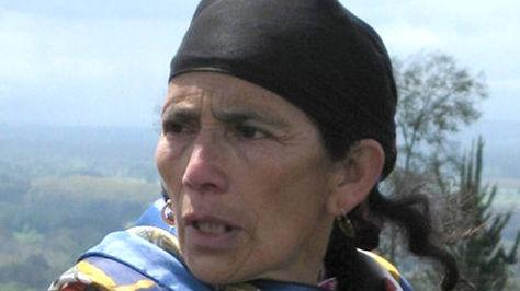 La mapuche chilena Francisca Linconao. Foto:biobiochile.cl