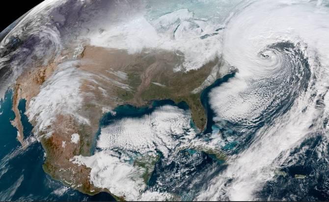 """¿Qué es exactamente la """"bomba ciclónica"""" que afecta a Estados Unidos?"""