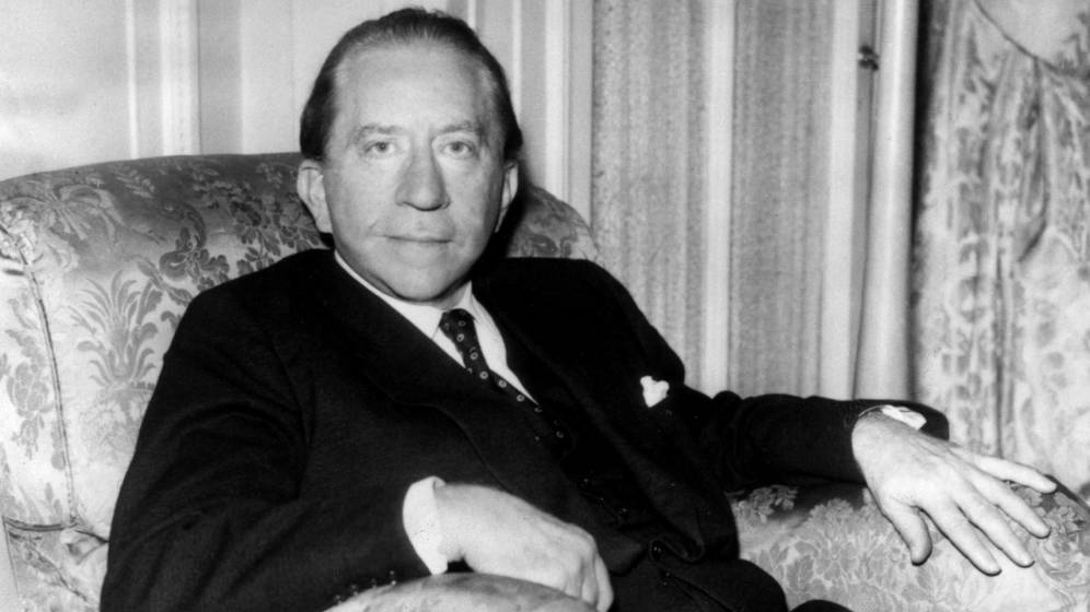 Foto: Jean Paul Getty se hizo millonario en la industria del petróleo. (Cordon Press)