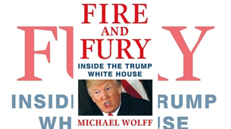 "La portada de ""Fire and fury: inside the Trump White House"""