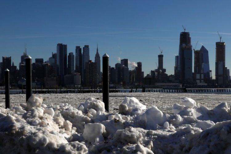 Hielo en río Hudson (REUTERS/Mike Segar)