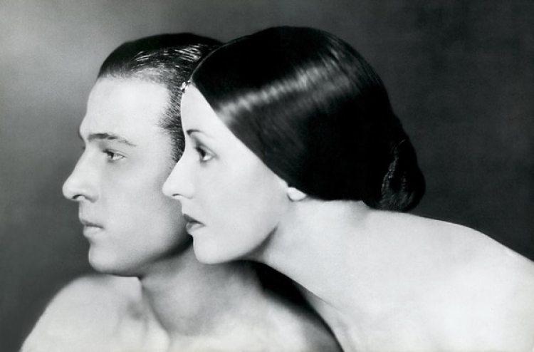 Rofolfo Valentino y Natacha Rambova
