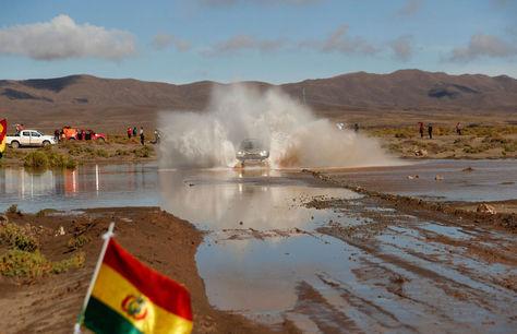 El paso del Rally Dakar por territorio boliviano en 2017. Foto: Archivo
