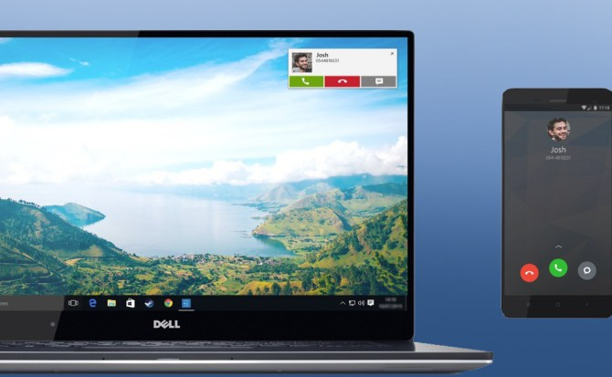 Los nuevos PC de Dell mostrarán las llamadas y mensajes de tu teléfono Android o iOS
