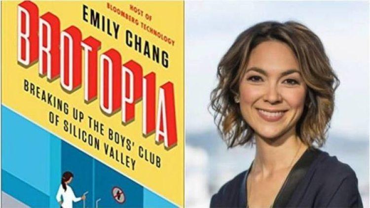 Emily Chang y explosivo libro sobre las orgías en San Franciso y alrededores, que sale en febrero.