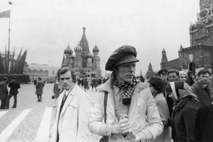 En la Plaza Roja, en 1973 (Geoff MacCormack)