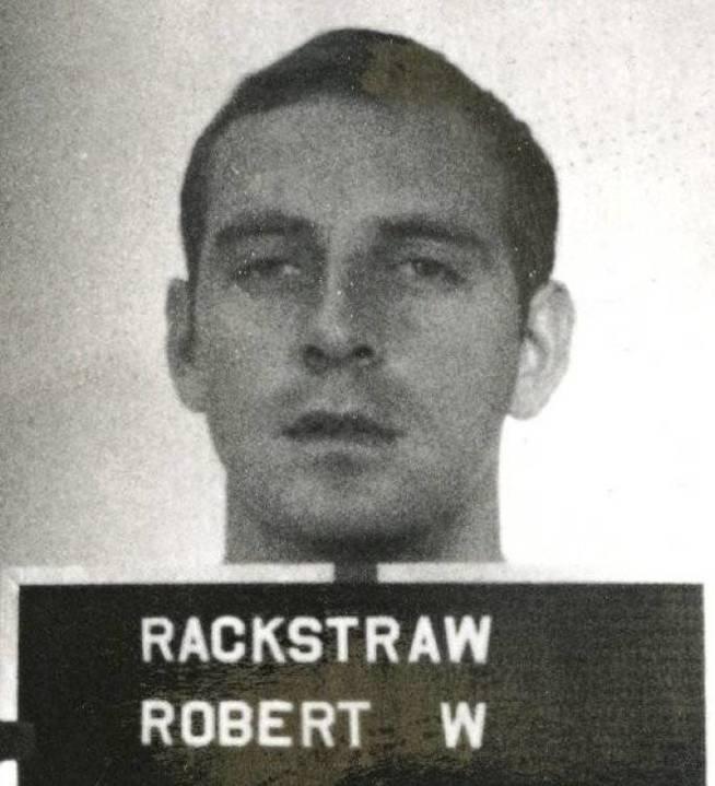 El retrato de Rackstraw de 1970 proporcionado por Colbert.