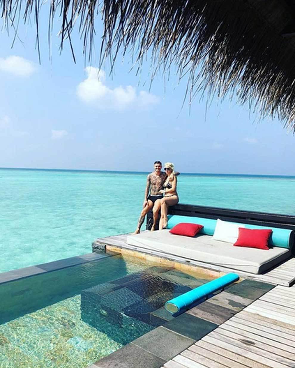Resultado de imagen para icardi y wanda nara vacaciones