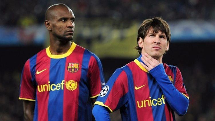 Eric Abidal contó queLionel Messi le pidió que no envíe más videos mientras se recuperaba de su enfermedad(Getty Images)