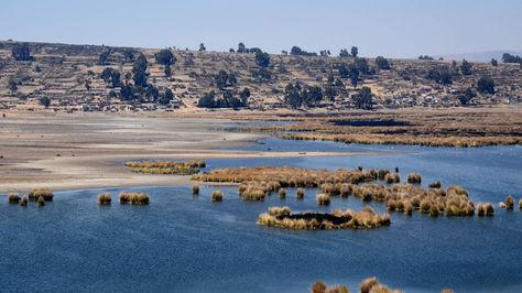 La caravana del Dakar pasará por el lago Titicaca. Foto: Archivo