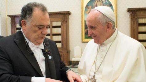 Eduardo Valdes, diputado Parlasur y exembajador ante la Santa Sede. Foto:lt9.com.ar