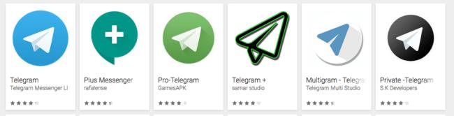 Telegram clones