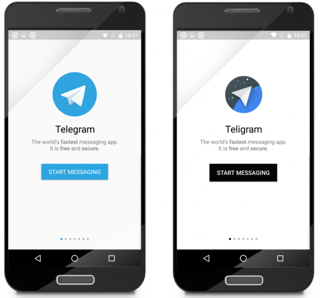 Telegram y Teligram