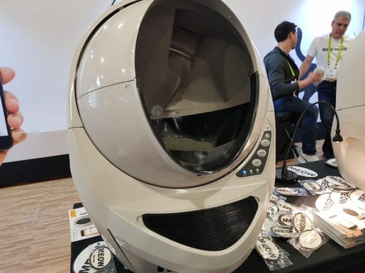 Litter robot.