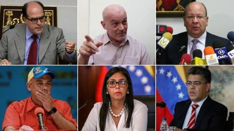 Los negociadores de la oposición y del régimen de Nicolás Maduro