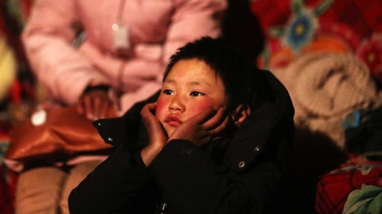 Fuman, en Ludian, provincia de Yunnan (AFP PHOTO / – / China OUT)