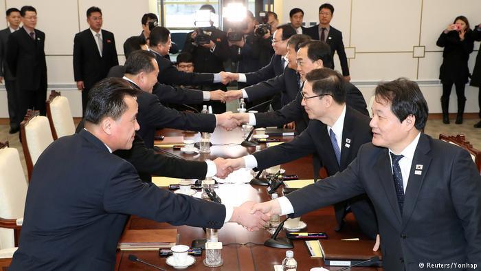 Panmunjom Treffen Nordkorea Südkorea Delegationen (Reuters/Yonhap)