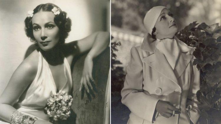 Dolores de Río y Mercedes Acosta