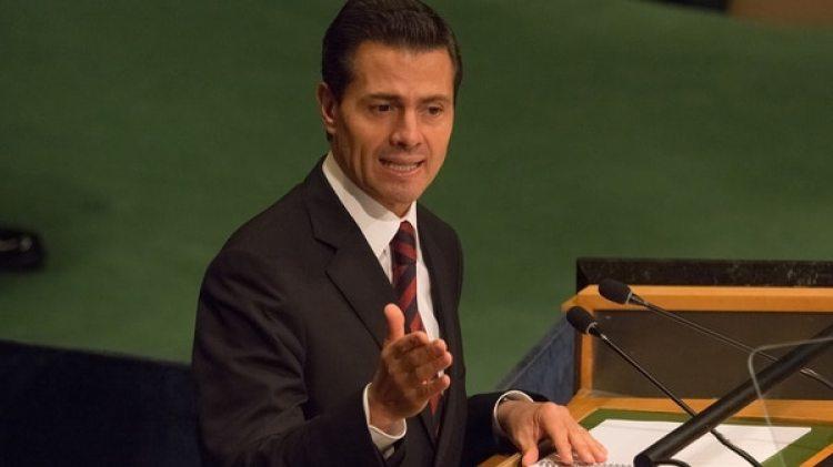 El presidente mexicano Enrique Peña Nieto