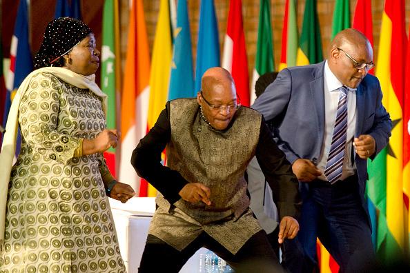 Jacob Zuma Nkosazana Dlamini Zuma