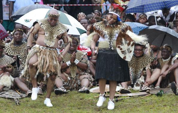 Thobeka Madiba y Jacob Zuma