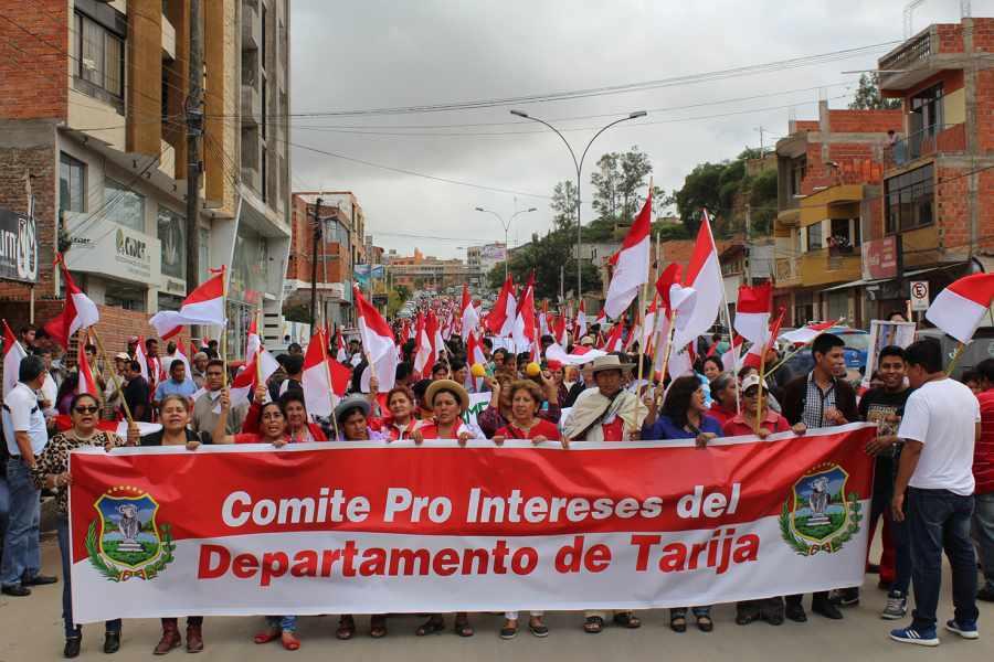 Instituciones de Tarija acatarán paro de 72 horas de la CONADE