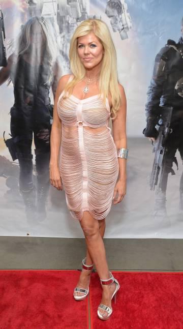 La actriz Tracey Birdsall en Los Ángeles en junio de 2017.