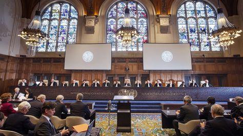 Una de las audiencias de la CIJ sobre su competencia respecto a la demanda marítima.