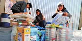 Donan subsidio no entregado por más de Bs 9,2 millones a 60 hogares de acogida de La Paz y El Alto
