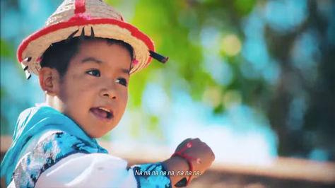 Yuawi el niño indígena mexicano que quiere ser cantante.