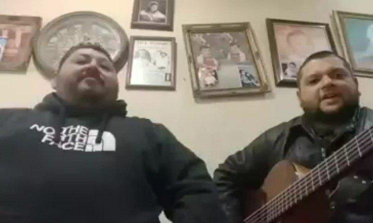 Cantantes mexicanos Los Preferidos de Nuevo León // Foto captura de video