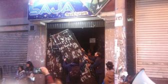 Destrozos en la discoteca Planta Baja y protestas tras hallazgo de jóvenes desaparecidos en Año Nuevo