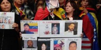 Venezolanos exiliados en Miami honran en vigilia a Óscar Pérez y su grupo