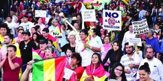 Bolivianos alistan cacerolazo para el lunes y desde el martes, paro indefinido