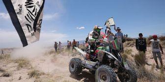 El chileno Ignacio Casale gana el Dakar más duro de su vida