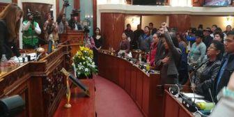 Ratificada presidenta de Diputados decide crear comisión para investigar denuncias de acoso en la oposición