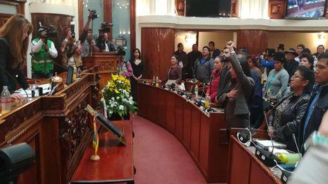 Gabriela Montaño jura como presidenta de Diputados. Foto:Cámara de Diputados