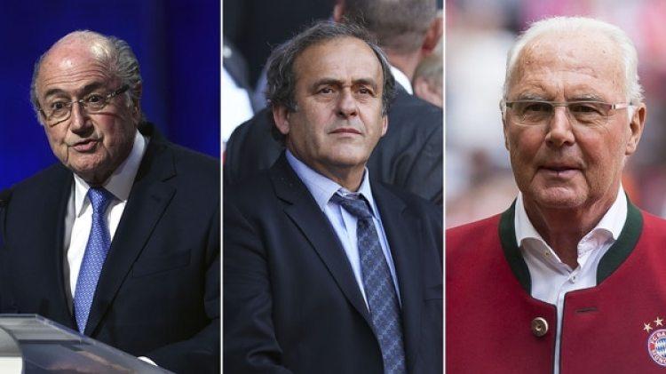 Blatter, Platini y Beckenbauer, todos alejados de la FIFA tras los escándalos
