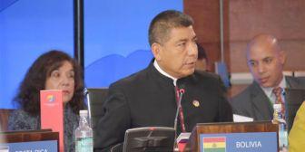 Huanacuni participa en II Reunión del Foro Ministerial Celac-China
