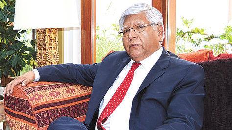 Embajador en Misión Especial Gabriel Gaspar en La Paz