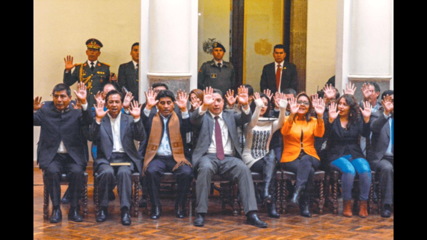 El presidente Evo Morales se une a Facebook