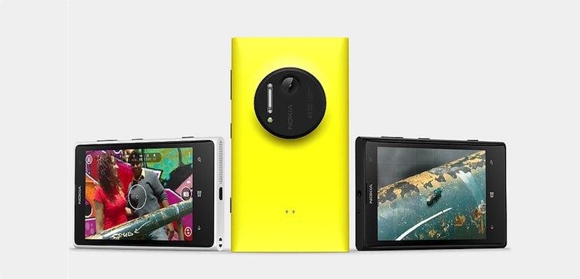 Patente Nokia 10 lente 5 sensores