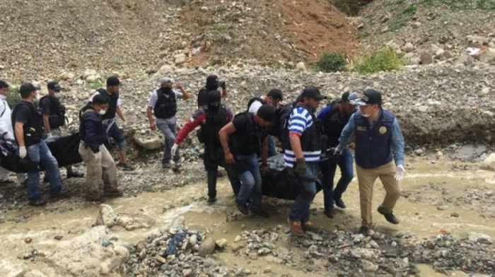 Los cuerpos de la pareja fueron halladas el viernes en el rio Orkojahuira.
