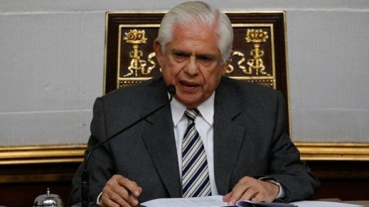 Omar Barboza, presidente del Parlamento venezolano. (Reuters)