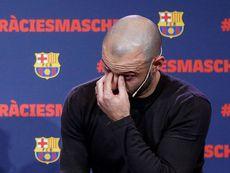 """Resultado de imagen para """"Eres un ejemplo"""", el emotivo video de sus compañeros para Mascherano"""