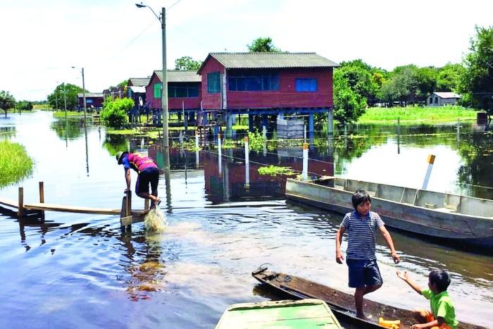 Tres municipios de Beni en emergencia por inundaciones