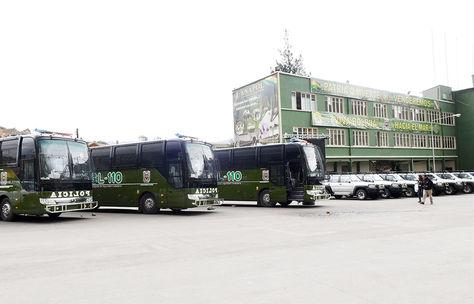 Entrega de Equipamiento a la Policía Boliviana.